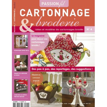 Passion Cartonnage et broderie n°4