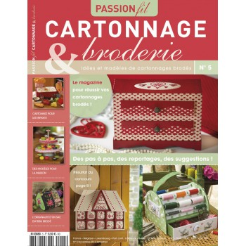 Passion Cartonnage et broderie n°5