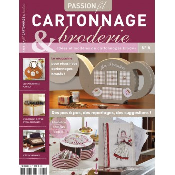 Passion Cartonnage et Broderie n°6