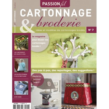 Passion Cartonnage et Broderie n°7