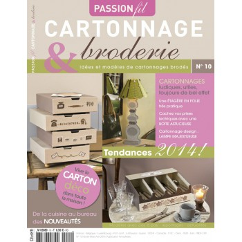 Passion Cartonnage et Broderie n°10
