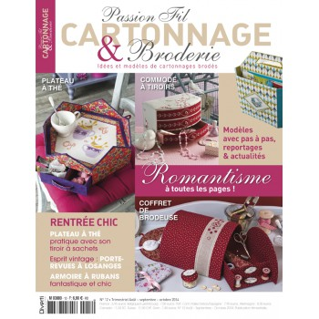 Passion Cartonnage et Broderie n°12
