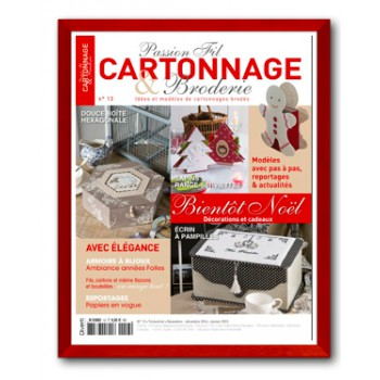 Passion Cartonnage et Broderie n°13
