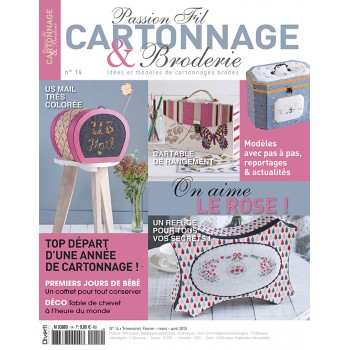 Passion Cartonnage et Broderie n°14
